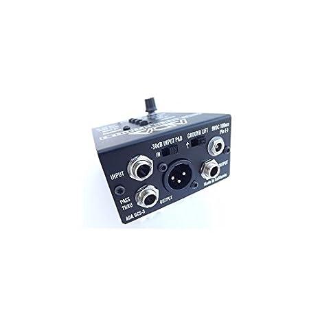 Ada gcs-3 guitarra simulador de armario & Di cajas: Amazon.es: Instrumentos musicales