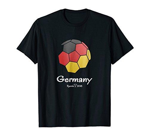Germany Soccer Russia 2018 Football Team Fan Shirt