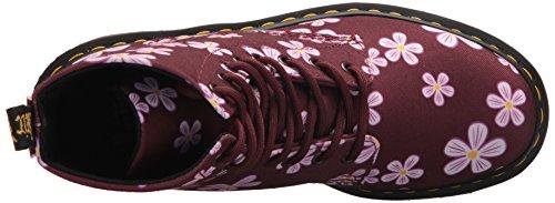 Dr. Scarpette Da Prato Da Donna Pagina Martens Multicolore (prato Rosso Ciliegia 600)