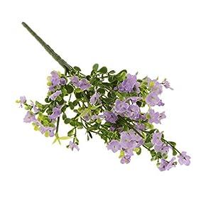 MARJON FlowersArtificial Silk Gypsophila Baby's Breath Flower Plant Home Wedding Decor - Lilac, As Described 115