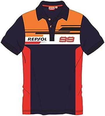 REPSOL HONDA RACING 2019 Jorge Lorenzo #99 - Polo para Hombre ...