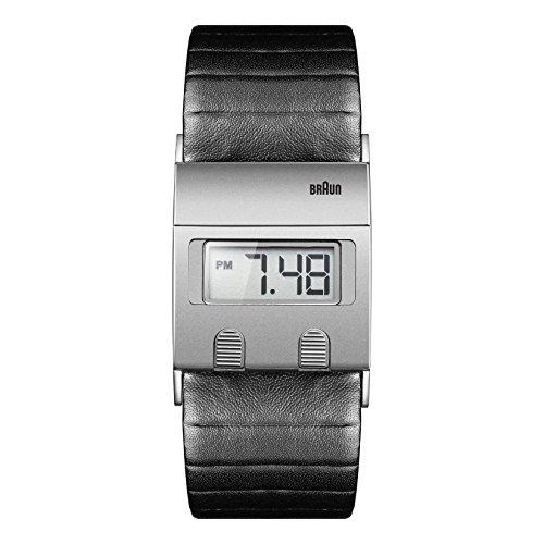 Braun Men's BN0076SLBKG Digital Digital Display Quartz Grey Watch