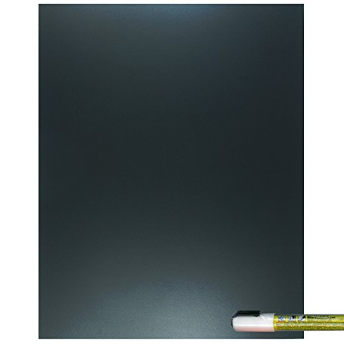 Cohas Eco Chalkboard includes 1 Unframed Blackboard and Liquid Chalk Marker, 11 x 14 Inches Each, White Marker (Unframed Vinyl)