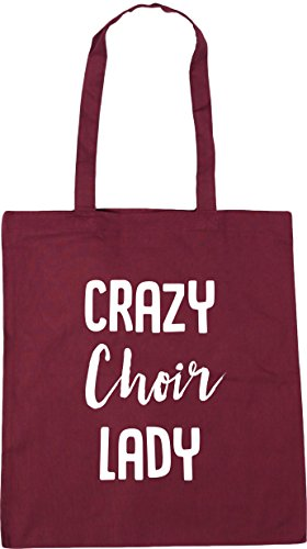 HippoWarehouse Crazy Choir Lady Tote Shopping Gym Beach Bag 42cm x38cm, 10...