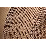 MARC Brown packing Cardboard Roll, Corrugated roll 140 GSM 5Mtr X 25 inchs