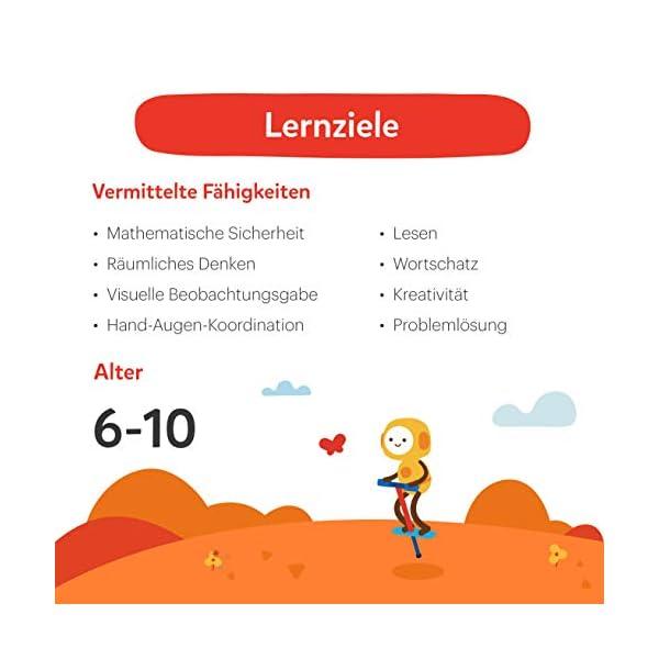 OSMO 901-00041 Genius Starter Kit (Versione tedesca) – Include 5 diversi mondi di apprendimento per bambini da 6 a 10 anni di base e riflettore inclusi 7 spesavip