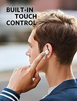 Amazon Com Soundcore True Wireless Earphones Anker Liberty Air Bluetooth 5 20 Hour Battery Life Touch Control Earbuds Renewed Home Audio Theater