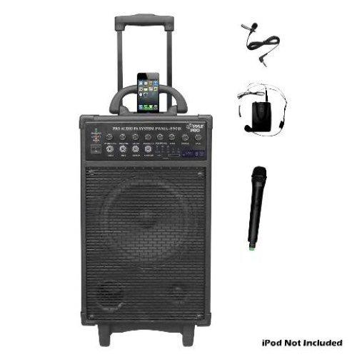 (Pyle Pro 500 Watt Outdoor Portable Wireless PA Loud speaker - 8