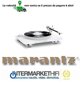 Tocadiscos TT 15-s1 Marantz marco de acrílico con massicci pies de ...