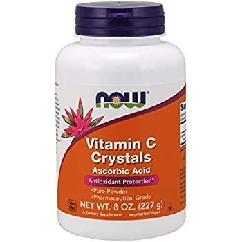 Amazon Com Now Foods Vitamin C Crystals Ascorbic Acid 1