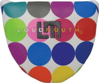 Winning Edge Loudmouth Oversized Disco Balls White Mallet Putter Cover ()