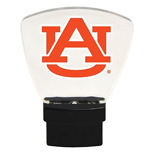 Authentic Street Signs NCAA Officially Licensed-LED Night Light-Super Energy Efficient-Prime Power Saving 0.5 watt, Plug in-Great Sports Fan Gift for Adults-Babies-Kids Room (Auburn Tigers)