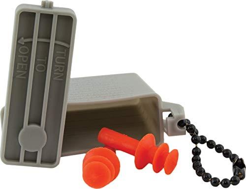 Ear Plug's with ACU Case, Medium (Orange)