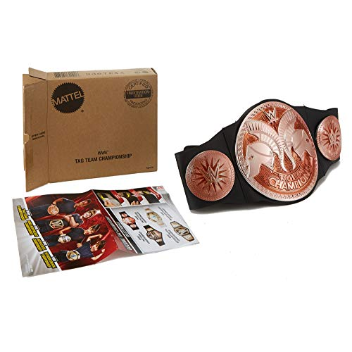WWE Tag Team Championship Belt, Frustration-Free Packaging -