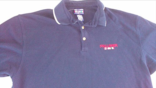 Palliser Mondetta Sport Polo Shirt NEW Mens Large Heavy Cotton Navy Blue Canada (Macys Polo Shirts)