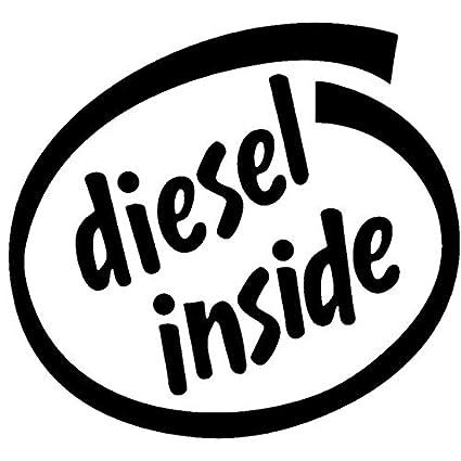 Amazon Com Car Sticker 3d Car Sticker 3d Diesel Inside Stickers
