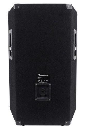 Rockville RSG15.4  15'' 3-Way 1500 Watt 8-Ohm Passive DJ/Pro Audio PA Speaker