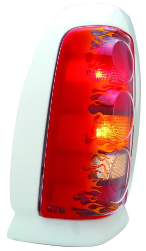 GT Styling 972526 Pro-Beam Taillight Cover Flames Pro-Beam Taillight Cover
