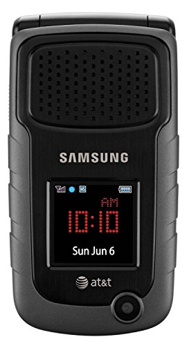 Samsung SGH-A847 Rubgy 2 Rugged GSM Unlocked AT&T 3G MP3 Flip Cell Phone No Contract (Renewed) (Flip Phones Samsung)