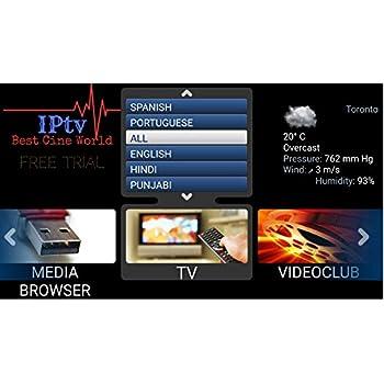 Amazon com: IPTV Subscription Worldwide All Channels on