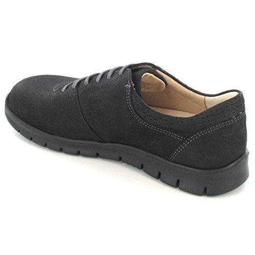 Finn Comfort Women's Salvador Casual Oxford,Schwarz Fine Grain Leather,EU 37 M by Finn Comfort (Image #1)
