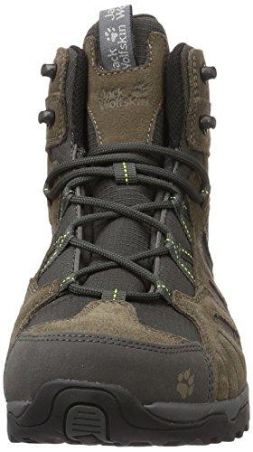 Texapore Randonnée Hike Green Men Mid Homme Hautes Marron Vojo Flashing Wolfskin Jack de Chaussures ET6qIT8x