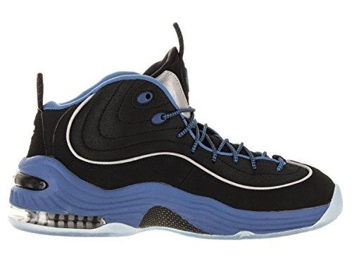 Nike Men's Air Penny Ii Basketball Shoes Black (Blk / Bl-vrsty Vrsty Bl-mtllc Sl) c1b8xTtHt