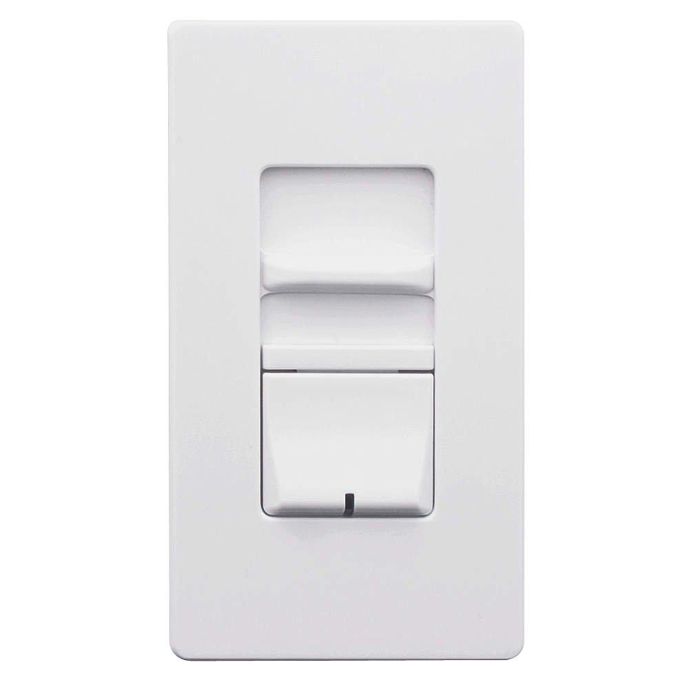 Leviton awsmt-ibwディマースイッチ1000 W単極白熱ルノワールII建築壁ボックス、ホワイト   B00GORD7KS
