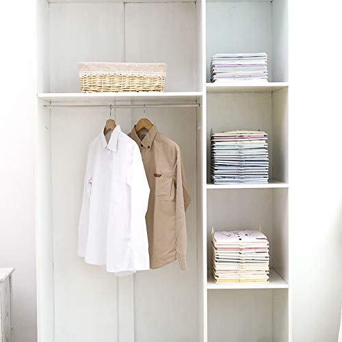 Ordnung-Schlafzimmer-Kleiderschrank-Hemden-Shirts-Legen-Stapeln