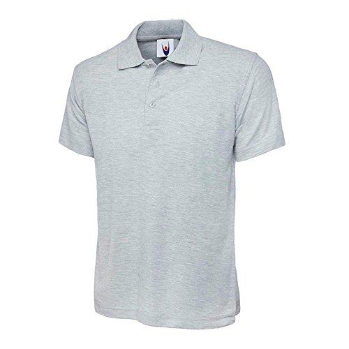 Uneek UC105grau–XL grau Polo Shirt