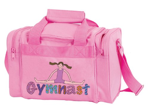 DansBagz by Danshuz Geena Gymnast Duffel Bag O/S PINK (Gymnastic Bag)