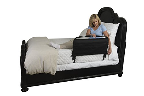 Stander 30'' Safety Adult Bed Rail & Padded Pouch- Home Elderly Bedside Safety Rail + Swing Down Assist Handle by Stander (Image #4)