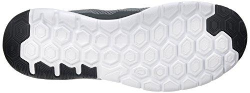 Nike Flex Experience Rn 4, Zapatillas de Running Para Hombre Gris / Negro / Blanco (Cool Grey / Black-Black-White)