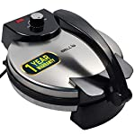 iBELL 1500Watt Nonstick Roti/Maker Big Size with Temperature Control, 27cm Diameter (Silver)