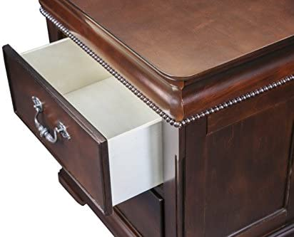 Furniture of America Charline English Style 2-Drawer Nightstand