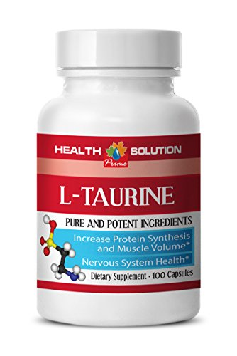 Taurine and glycine - L-TAURINE 500MG - increase physical strength (1 Bottle)