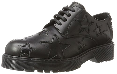 Nero Stokton Shoes Donna Stringate Scarpe Oxford Fwwp6Pvq