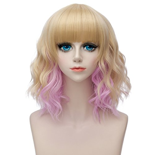 Synthetic None-lacewigs Mapofbeauty 12 30cm Short Straight Men Cosplay Wigs Brown Blonde Yellow Purple 6 Colors High Temperature Fiber Synthetic Hair Terrific Value