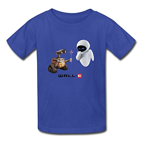 Price comparison product image AOPO Wall E Tees For Kids Unisex Small RoyalBlue