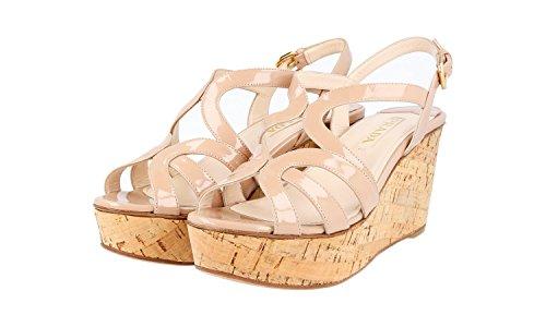 Sandals F0A48 Leather Women's 1XZ222 4OX Prada qZXtx