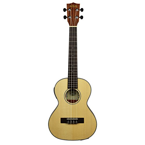 Kala KA-SSTU-TE Mahogany Travel Tenor Acoustic-Electric Ukulele by Kala