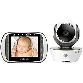 Amazon.com : Motorola MBP853CONNECT Dual Mode Baby Monitor