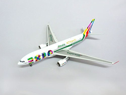 JC WINGS 1/400 A330-200 Alitalia Expo 2015 with Antenna