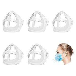 Huanchenda Support Intérieur, 3D Support pour Protection Respiratoire Cool, Plus d'Espace pour Respirant Confortable…