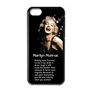 Customize Marilyn Monroe Hard Case for Iphone 5C