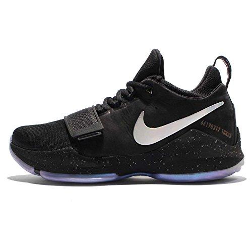Nike Mens Pg 1 Ts Prototipo Ep, Nero / Multicolor, 10 M Us