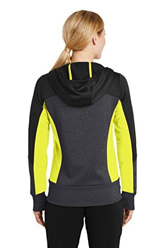 Sport Tek Women's Premium Sportswear Tech Fleece Bundle, 4XL, Citron/Black