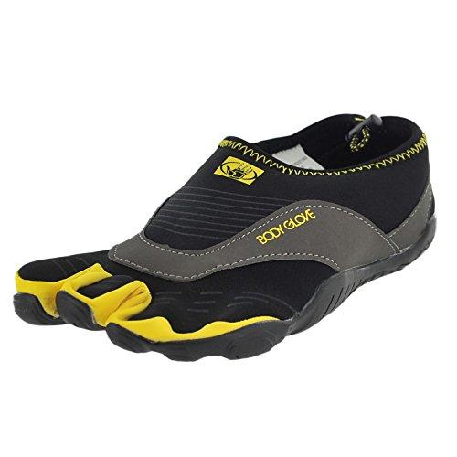 - Body Glove Men's 3t Cinch-m Water Shoe Black/Yellow 10