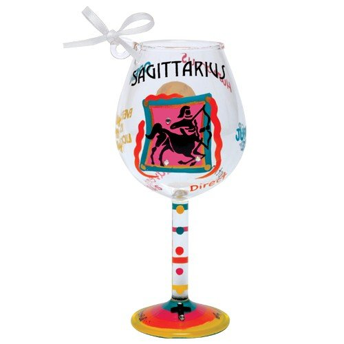 Santa Barbara Design Studio Lolita Holiday Mini-Wine Ornament, Sagittarius