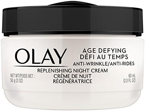 Amazon Com Olay Age Defying Anti Wrinkle Replenishing Night Cream Beauty